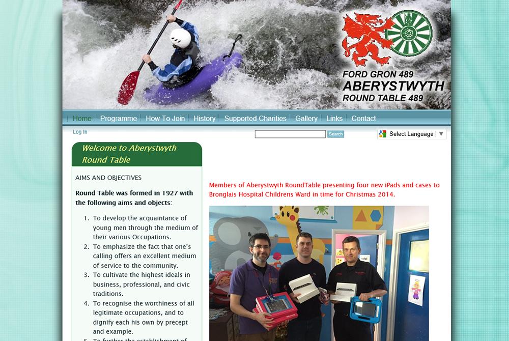 Aberystwyth Round Table web site