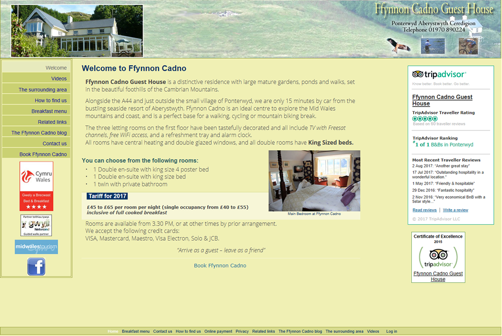 Hafod web site
