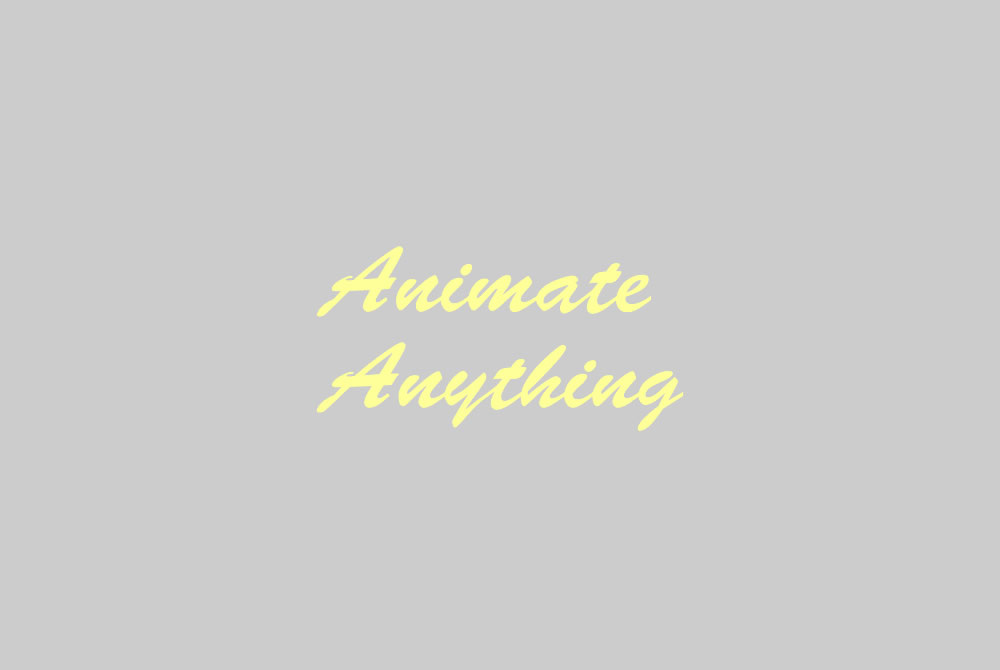 Animate Anything