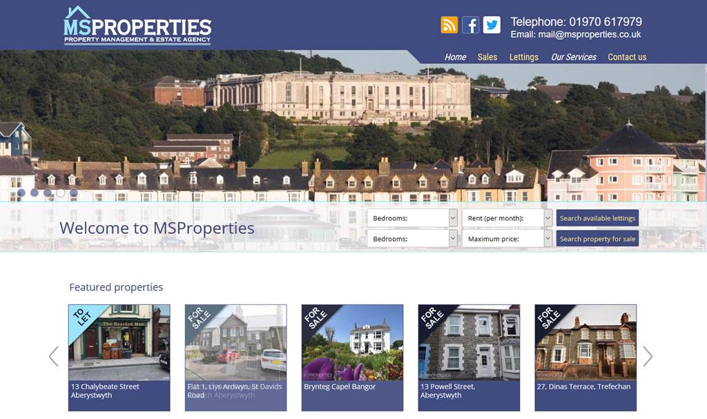 MSProperties - web site